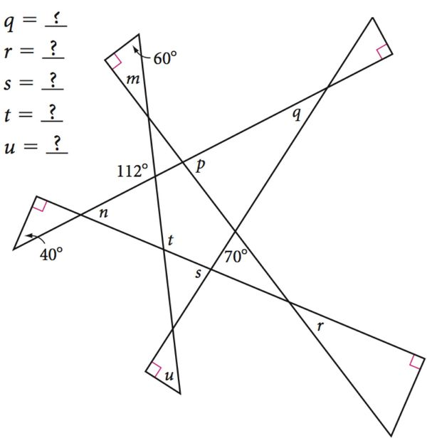 Michael Serra Discovering Geometry FAQ – Geometry Puzzle Worksheets