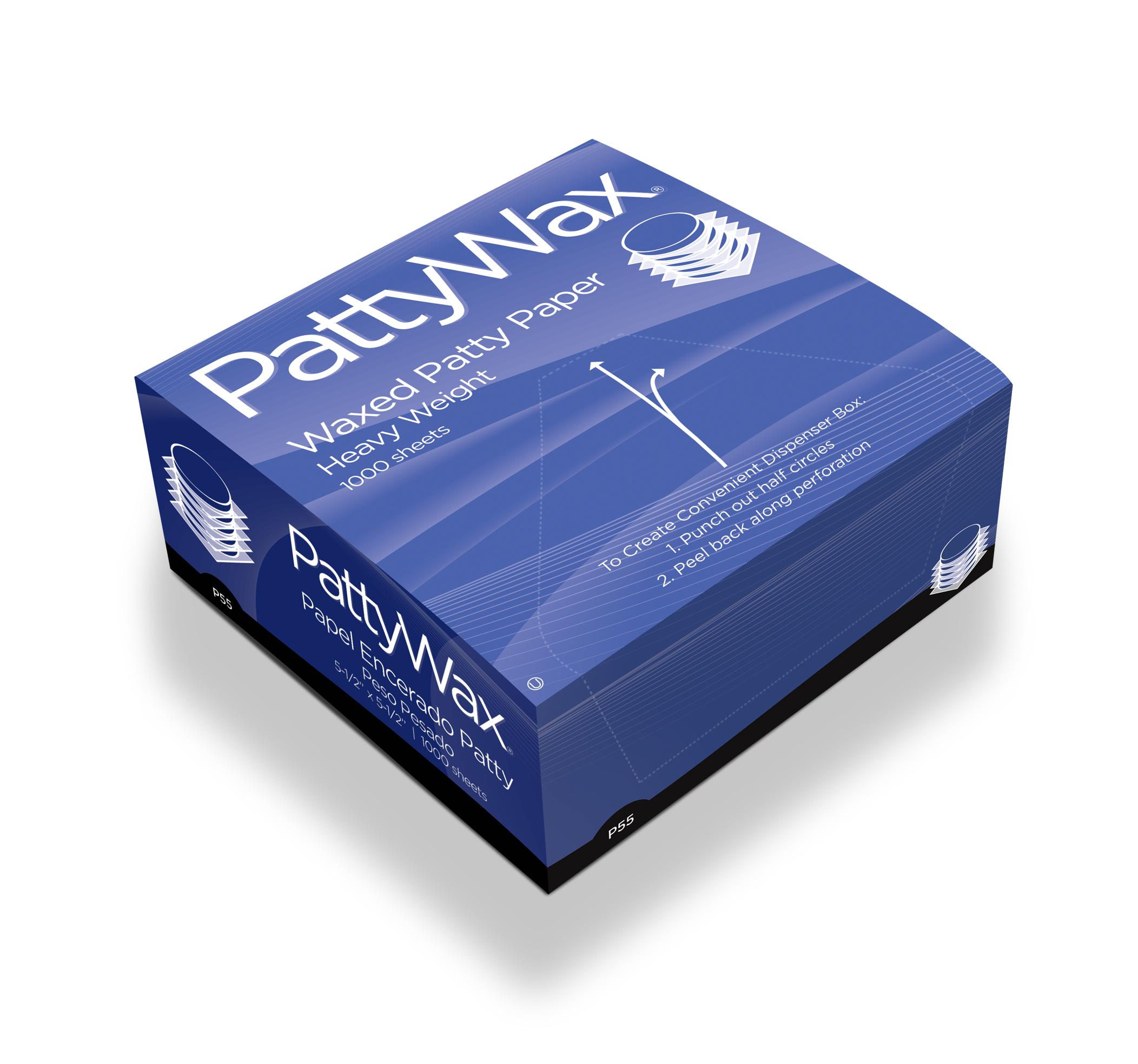 Box of 1000 Sheets Heavy Weight Hamburger Patty Paper