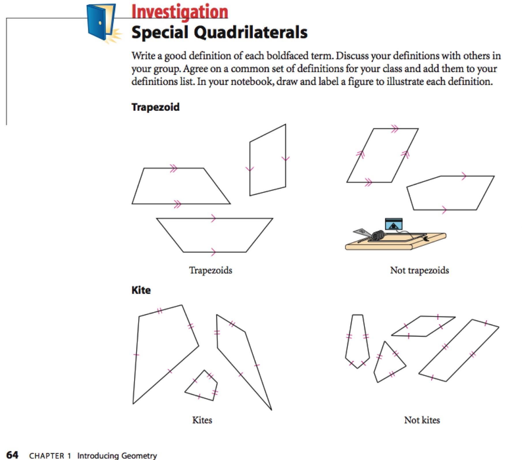 Worksheet Kites And Trapezoids Worksheet Answers Carlos Lomas
