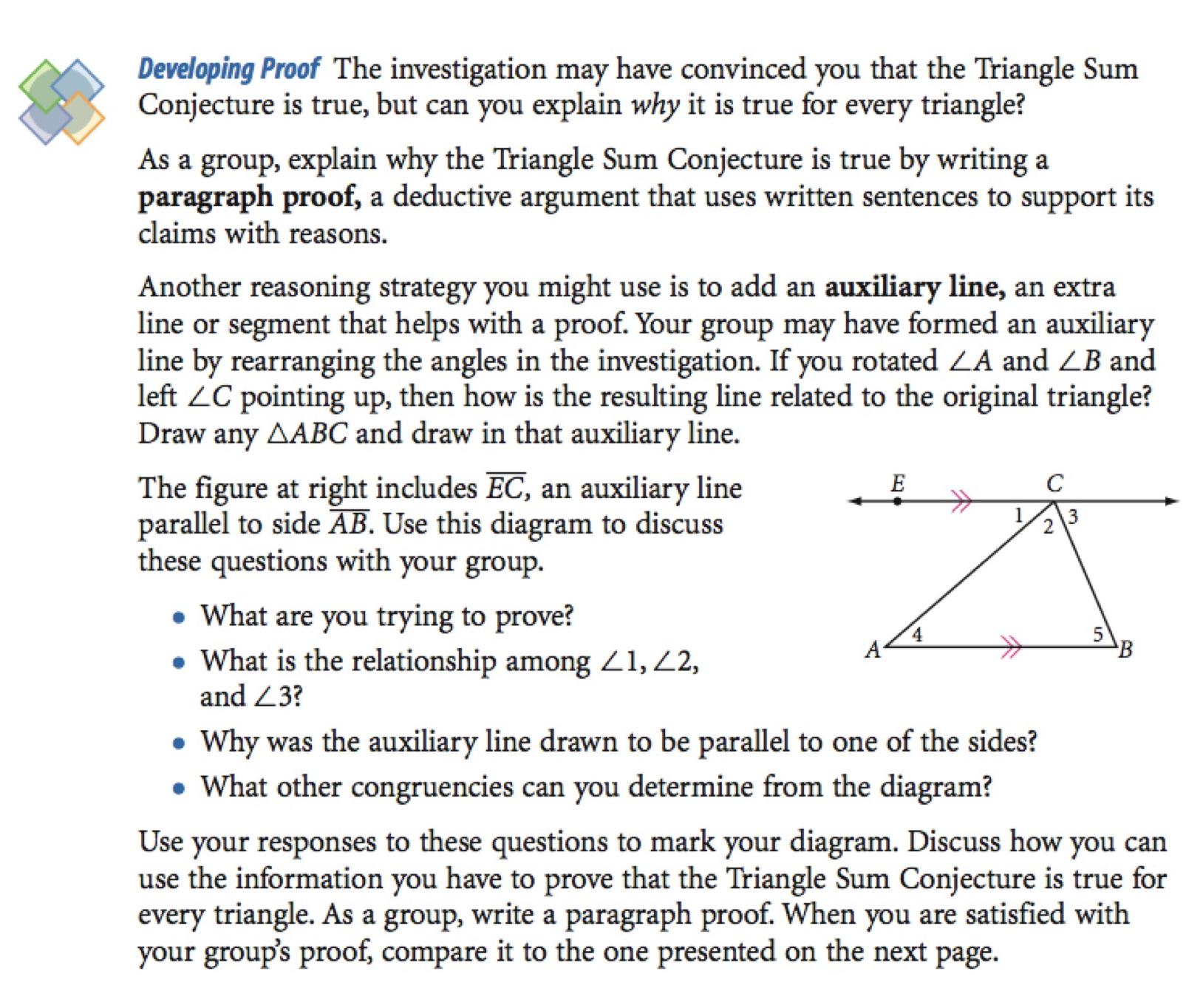 Discovering Geometry FAQ - Michael Serra